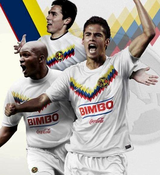 White Club America Soccer Jersey