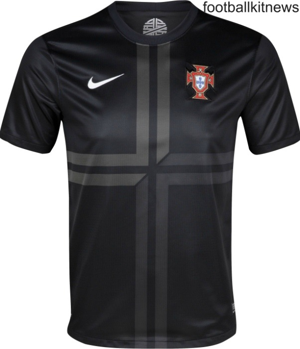 Black Portugal Away Kit 2013