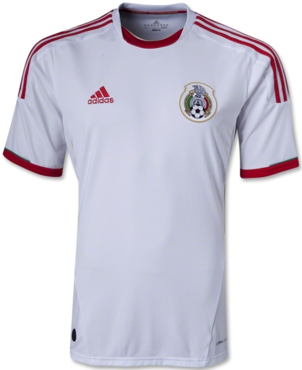 Mexico White Jersey 2013