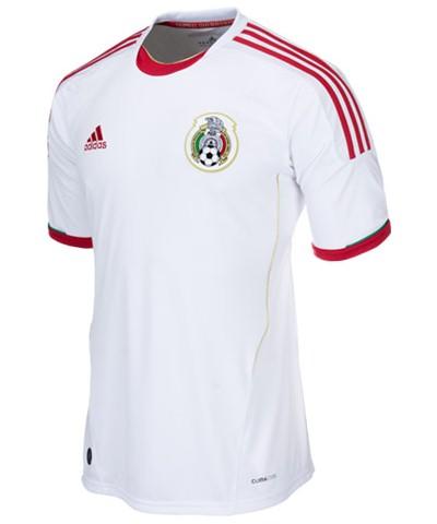 White Mexico Third Jersey 2013