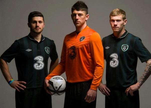 Republic of Ireland Away Kit 2013 14