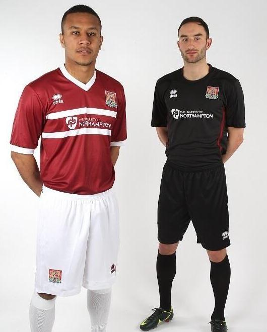 University of Northampton NTFC Kit