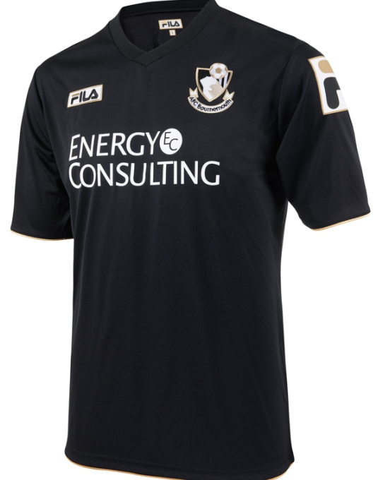 Black Bournemouth Shirt 13 14