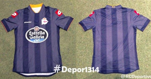 Deportivo La Coruna Jersey 2013 14
