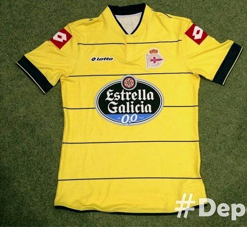 Deportivo Third Kit 13 14 Lotto