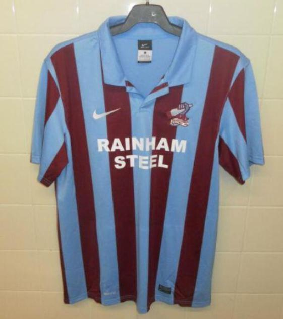 New Scunthorpe Home Kit 2013 14
