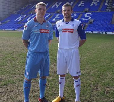 New Tranmere Rovers Kits 2013 2014 Fila Home Bargains Tranmere