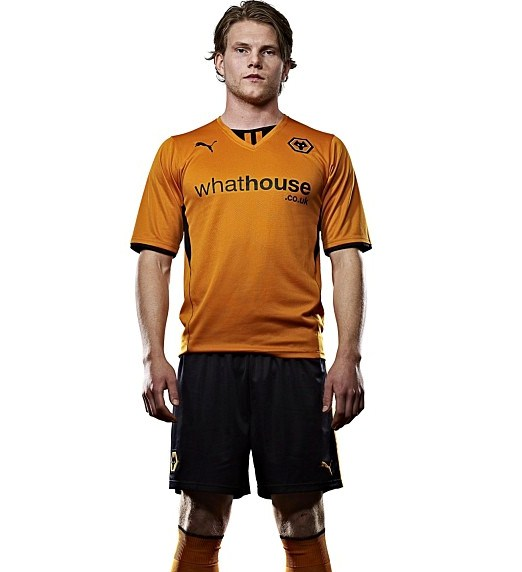 New Wolves Kit Puma 2013-2014- Wolverhampton Wanderers Home Shirt ... 3fb3fb066