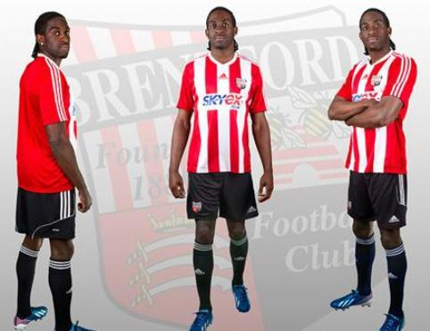 Adidas Brentford Shirt 2013 14