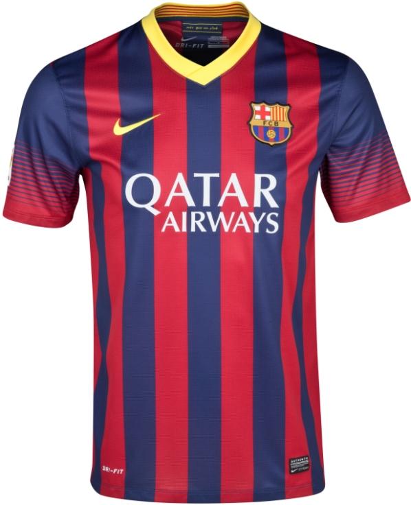 Barcelona Home Kit 13 14
