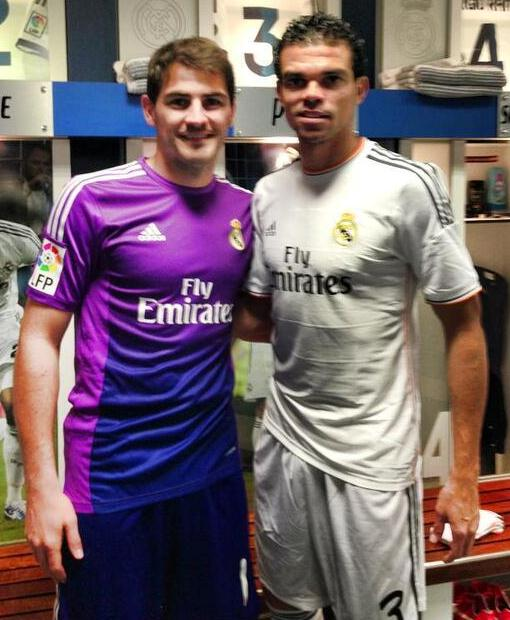 Casillas Pepe 2013 Real Madrid