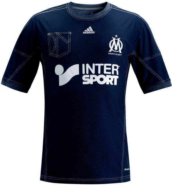 Denim Marseille Jersey 2013 2014