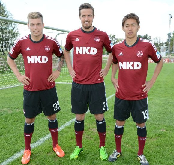 FC Nuremberg Jersey 2013 2014