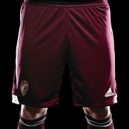 Hearts Home Kit Shorts 2013