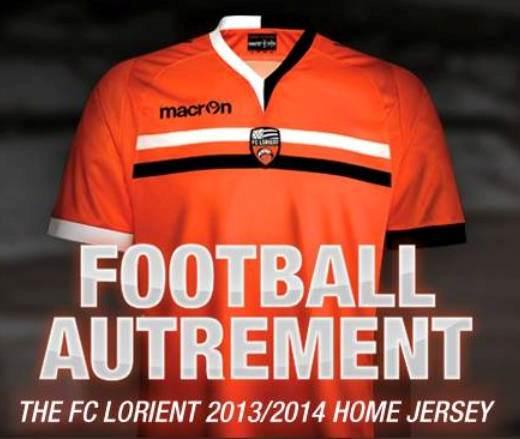 Macron Lorient Jersey 2013