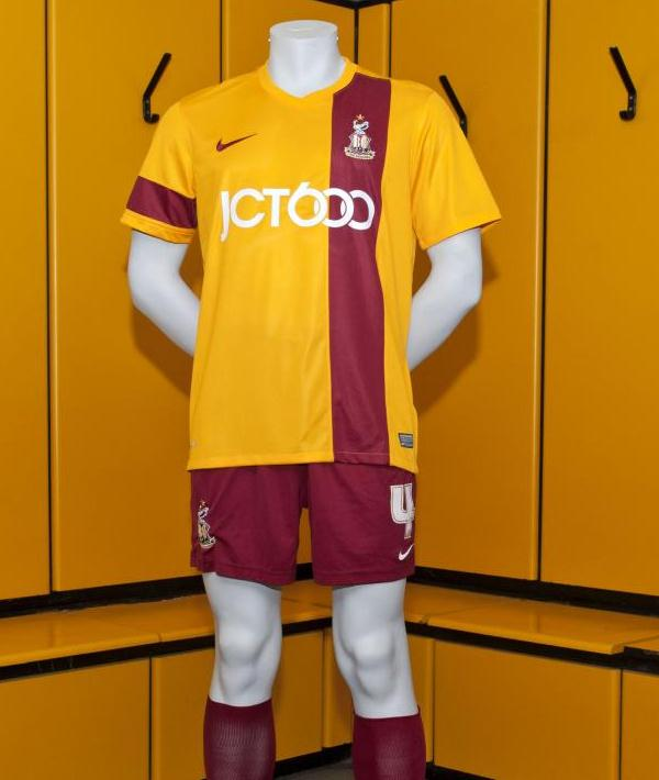 New Bradford City Kit 13 14