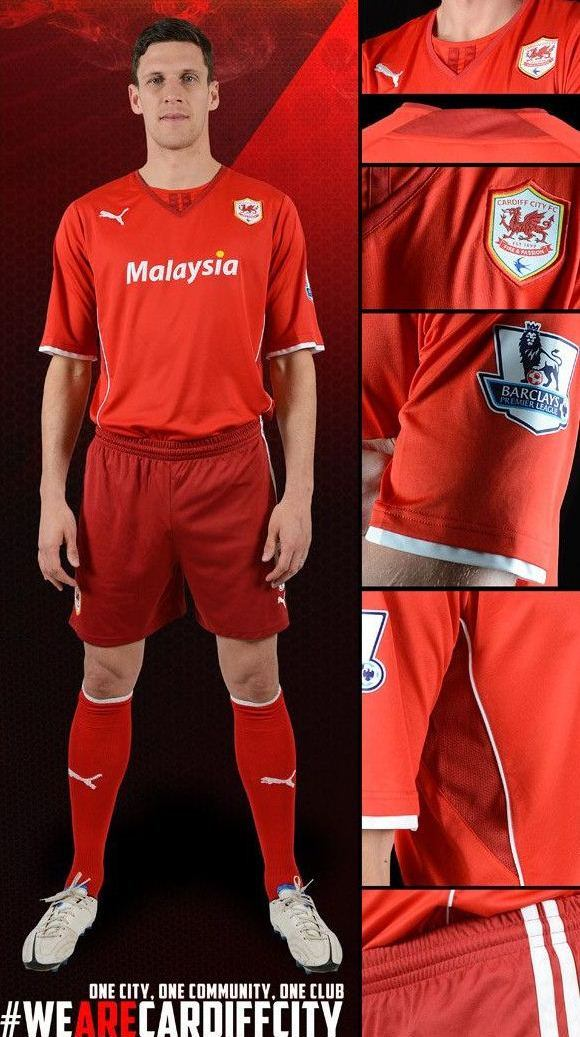 New Cardiff City Jersey 2013 2014