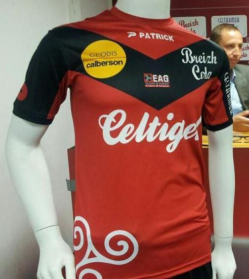 New EA Guingamp Kit 13 14