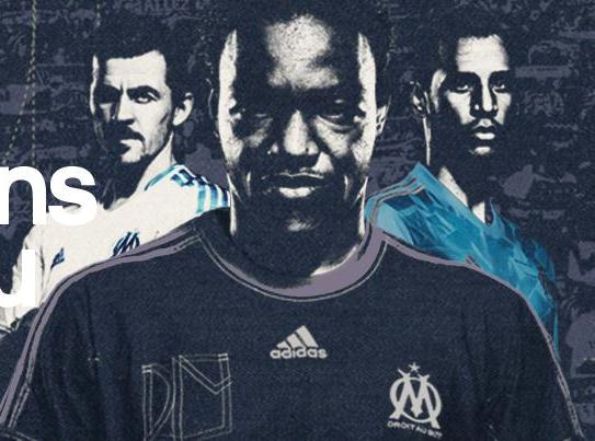 New Marseille Kits 13 14