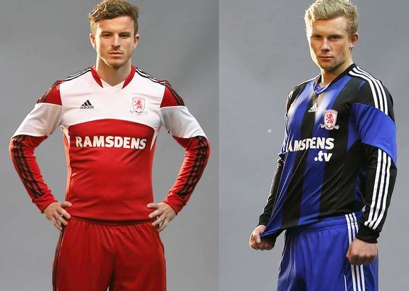 New Middlesbrough Kit 13 14