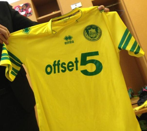 New Nantes kit 2014