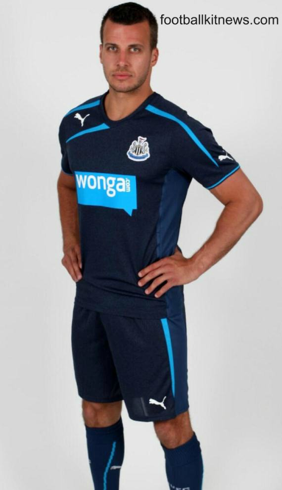 New Newcastle Away Kit 13 14