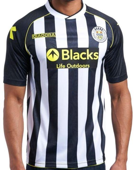 New St.Mirren Kit 13 14