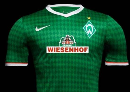 New Werder Bremen Kit 2013 14