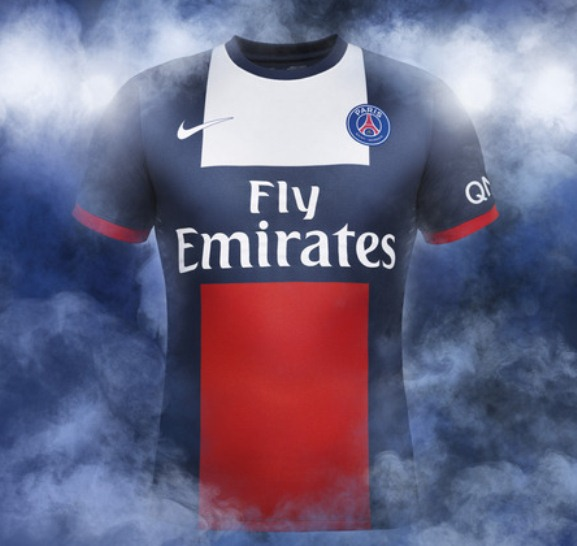 brand new f336a 55dd3 New PSG Kit 13-14- Nike Paris SG Home Jersey 2013-2014 ...