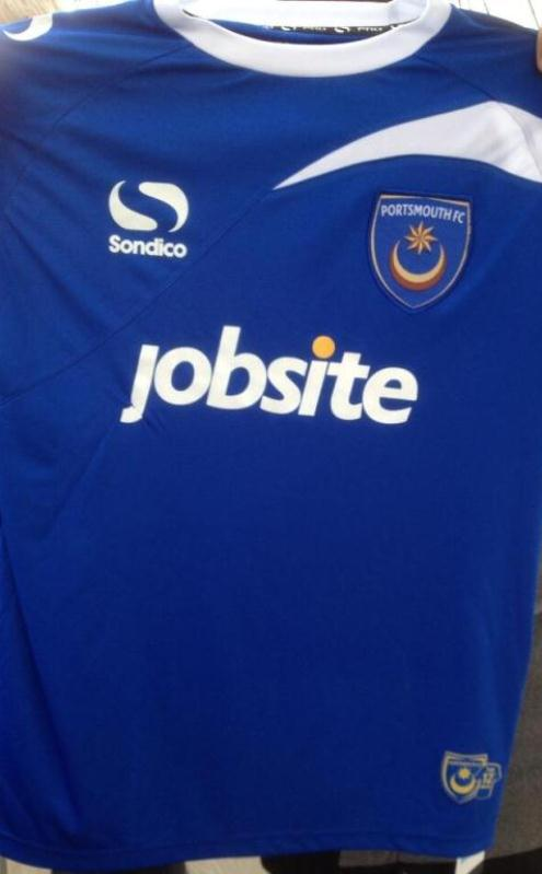 Portsmouth New Kit 2014