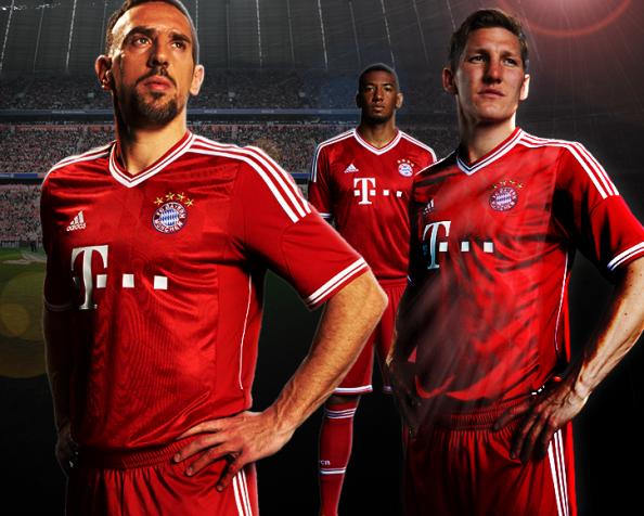Ribery Bayern Munich 2013 Kit