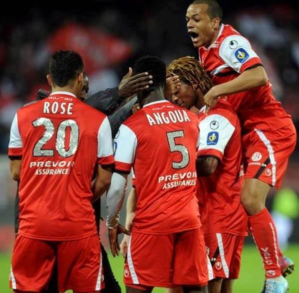 Valenciennes Soccer Jersey 2013 2014