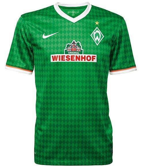 Wiesenhof Werder Bremen Jersey 2013 2014