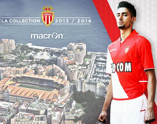 AS Monaco Home Shirt 13 14