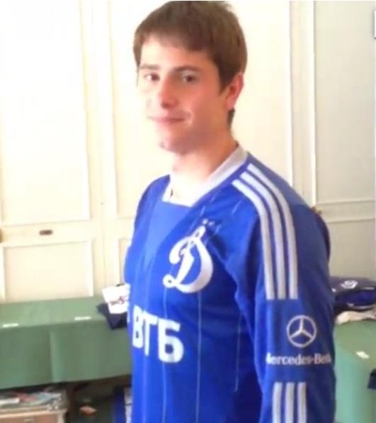 Adidas Dynamo Moscow Shirt 2013 14
