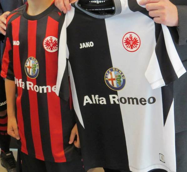 Alfa Romeo Eintracht Frankfurt Jersey 2013