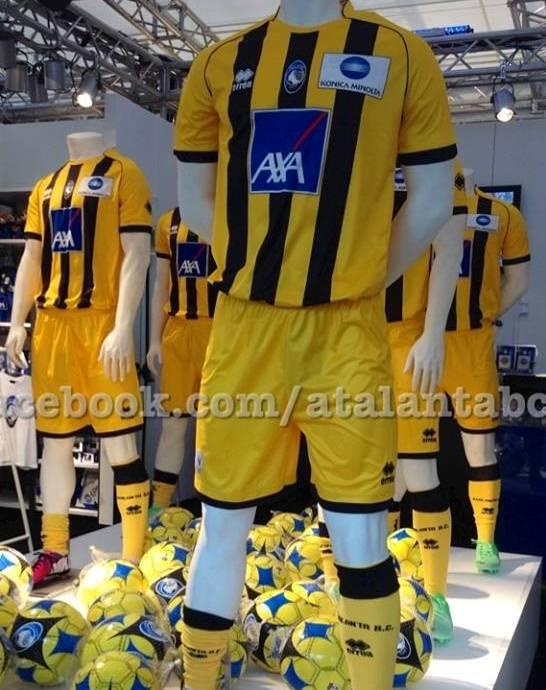 Atalanta Away Kit 13 14