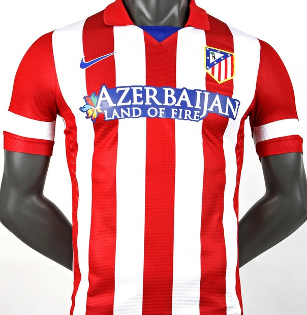 Atletico Madrid New Jersey 2013 2014
