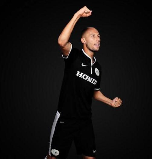 Black Maccabi Haifa 3rd Kit