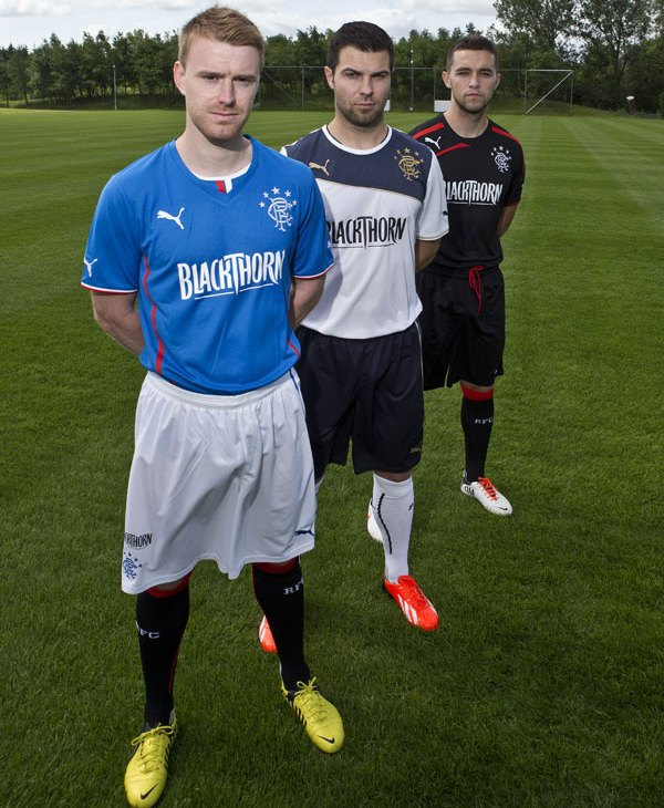 Blackthorn Rangers New Kit 2013 14