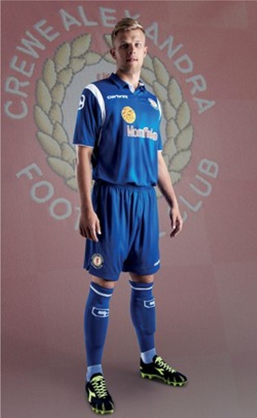 Crewe Away Kit 2013 14