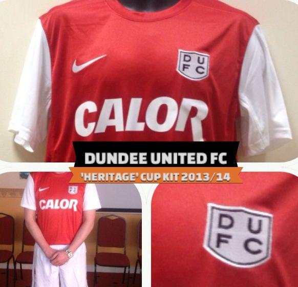 Dundee Utd Heritage Top 2013 2014