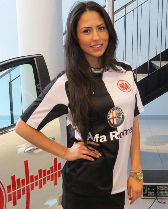 Eintracht Frankfurt Away Kit 2013