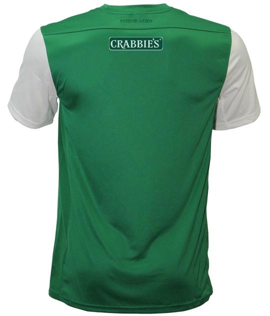Forever Green Hibernian FC Shirt 2013 14
