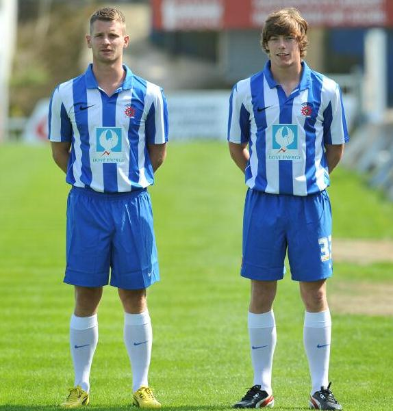 Hartlepool United Home Kit 2013 14
