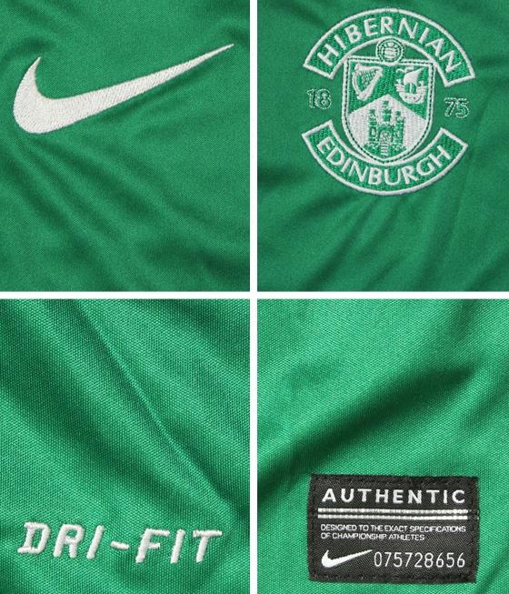 Hibs Nike 2013