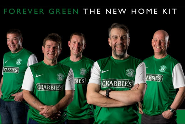 Hibs Nike Strip 13 14