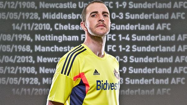 John O'Shea Sunderland Kit 2013 14