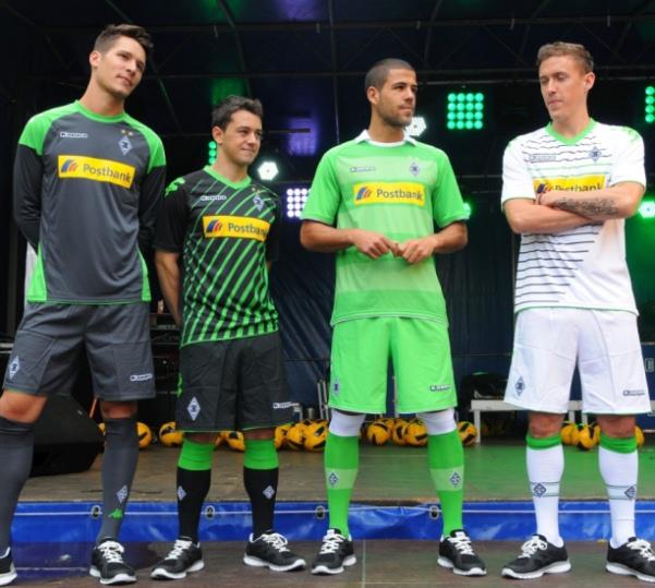 Kappa Borussia Monchengladbach Trikot 2013 2014