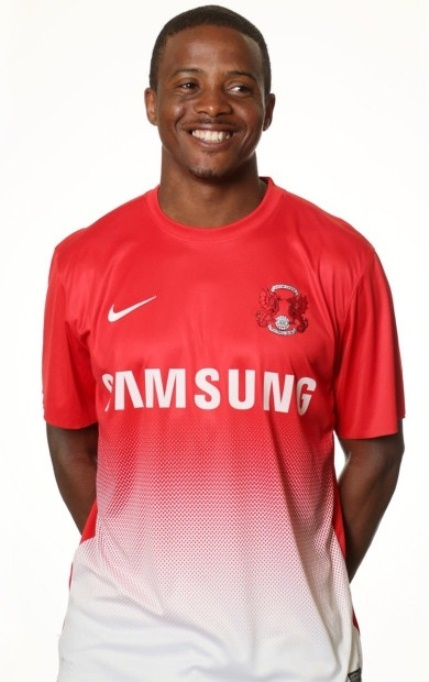 Kevin Lisbie Leyton Orient 2013 Shirt